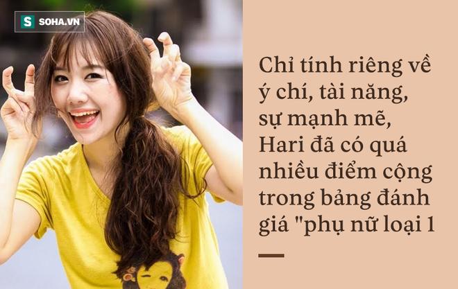 Hari Won là phụ nữ loại 1, rất hiếm trong showbiz Việt! - Ảnh 5.