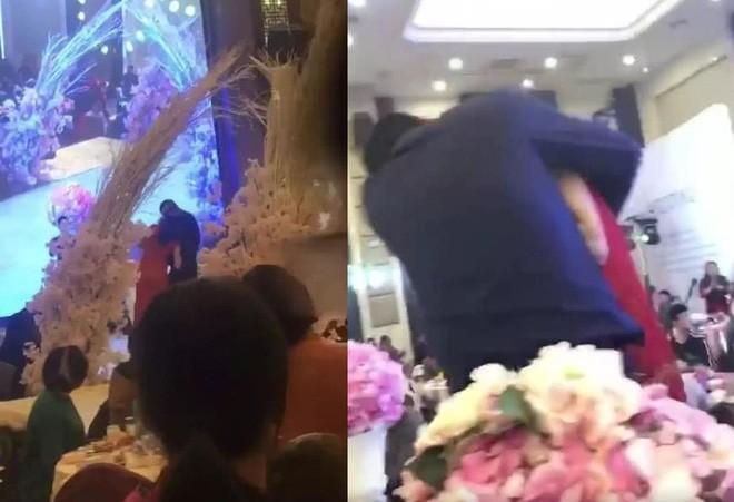 """Bố chồng hôn con dâu, chú rể bị ép khỏa thân... những trò đùa """"lố"""" trong đám cưới ở Trung Quốc - Ảnh 1."""