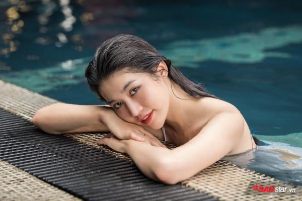 Chiêm ngưỡng hình ảnh bơi lội nóng bỏng của Chế Nguyễn Quỳnh Châu - Ảnh 8.