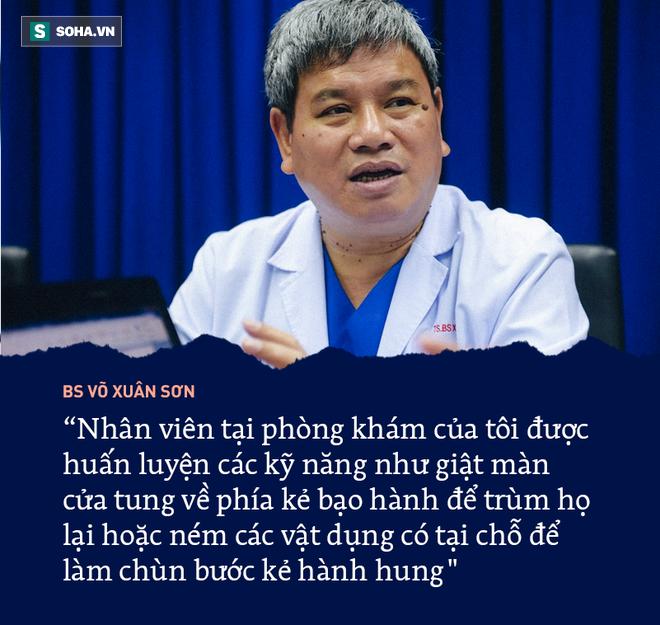 BS Võ Xuân Sơn: Tiêu cực của ngành y không phải là nguyên nhân chính gây ra bạo hành y tế - Ảnh 1.