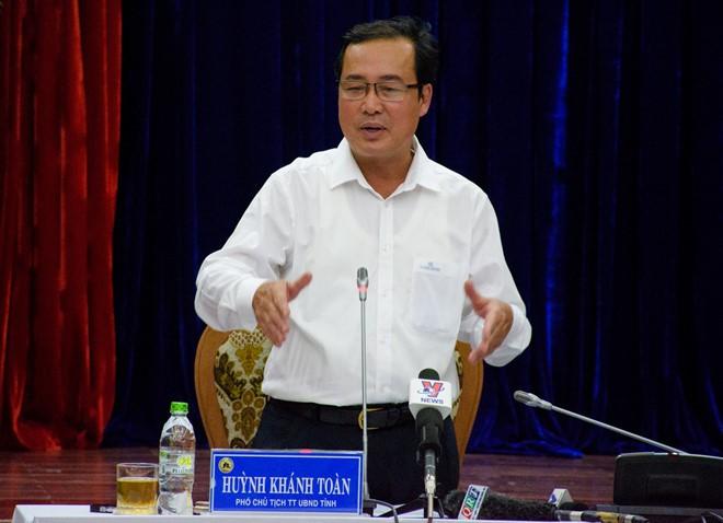 Thủ tướng kỷ luật cảnh cáo Chủ tịch, Phó Chủ tịch TT UBND tỉnh Quảng Nam - Ảnh 1.