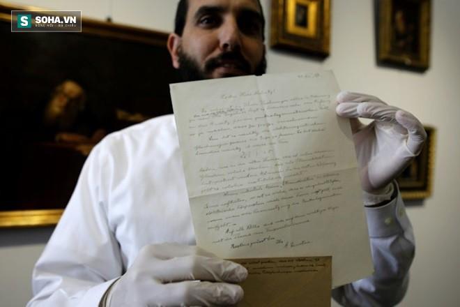 Bức thư hiếm hoi của Einstein được đem đấu giá và mang về hơn 100.000 đô - Ảnh 1.