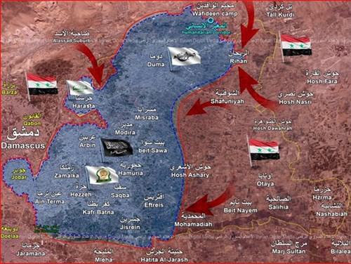Bước ngoặt trong cuộc nội chiến tại Syria - Ảnh 2.