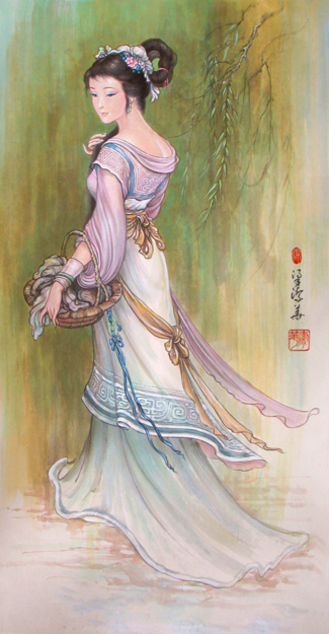 Từ Cleopatra đến Dương Quý Phi, đây là những mỹ nhân xinh đẹp bậc nhất trong lịch sử - Ảnh 10.