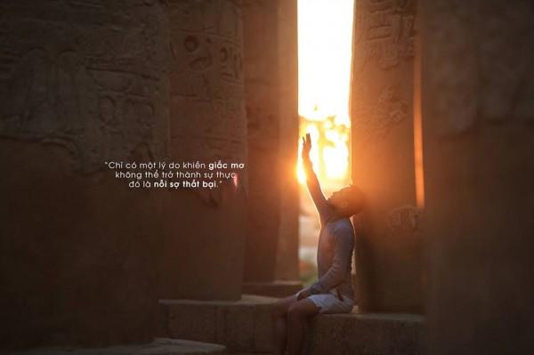 Lấy cảm hứng từ Nhà giả kim, chàng trai này đã đến Ai Cập với toàn bộ nhiệt huyết tuổi trẻ - Ảnh 21.