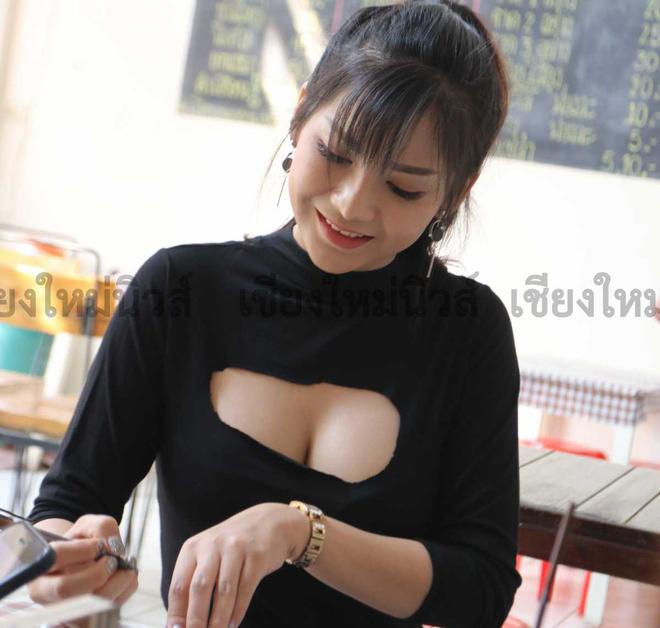 Bỏ việc về quê bán phở, bà chủ quán Thái Lan bỗng nổi như cồn vì khuôn mặt xinh đẹp và thân hình nóng bỏng - Ảnh 6.