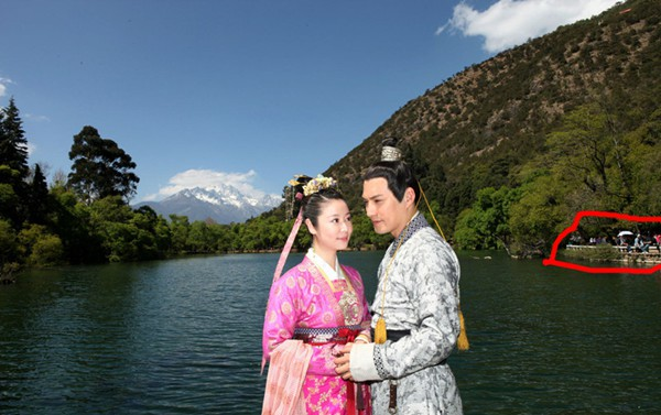Sạn vô duyên trong phim Hoa ngữ: Thời cổ xuất hiện hộp gà rán, lốp xe cao su - Ảnh 8.