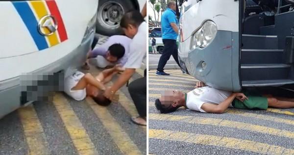 Người đàn ông kẹt dưới gầm xe buýt tưởng chết, sự tử tế của người lạ đã đem tới điều kỳ diệu - Ảnh 2.