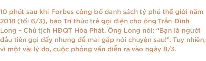 """Chủ tịch Hoà Phát Trần Đình Long: """"Là tỷ phú, tôi vẫn chỉ làm điều mình thích thôi!"""" - Ảnh 1."""
