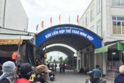 Tân Hùng Minh lấy đất dự án Khu dịch vụ thể dục thể thao làm kiot bán hàng - Ảnh 2.