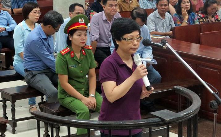 Cựu đại biểu Quốc hội Châu Thị Thu Nga tiếp tục hầu tòa phúc thẩm