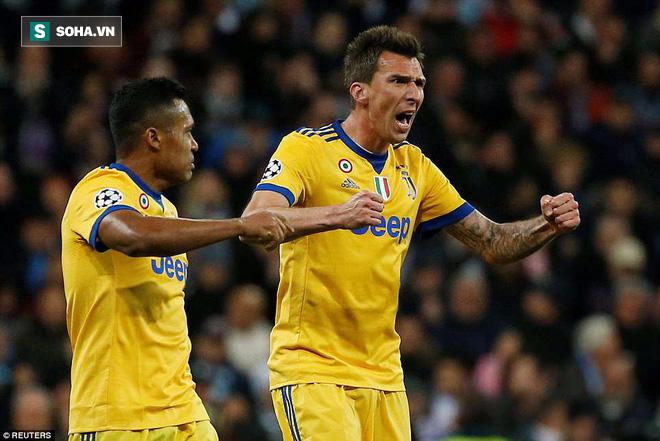 Lãnh 3 cú đòn của Juventus, Real Madrid trở về từ cõi chết nhờ người hùng Ronaldo - Ảnh 1.