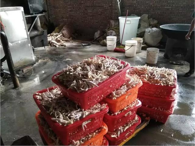 Tin không vui với các tín đồ ẩm thực: TQ phát hiện xưởng chế biến 2 tấn chân gà siêu bẩn, chứa chất phụ gia cấm - Ảnh 2.