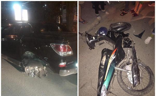 Những hình ảnh về vụ tai nạn khiến mạng xã hội Việt