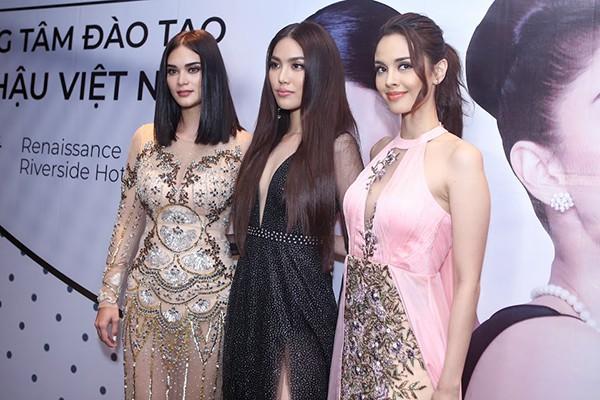 Lan Khuê tự tin đọ sắc cùng Hoa hậu Thế giới, Hoa hậu Hoàn vũ - Ảnh 5.