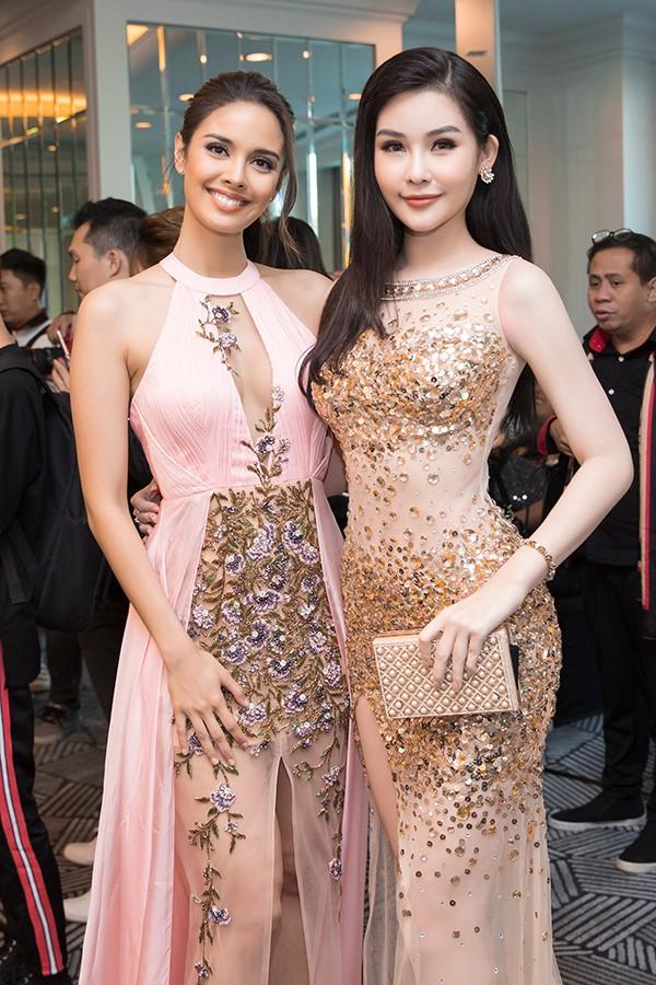 Lan Khuê tự tin đọ sắc cùng Hoa hậu Thế giới, Hoa hậu Hoàn vũ - Ảnh 10.