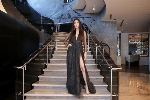 Lan Khuê tự tin đọ sắc cùng Hoa hậu Thế giới, Hoa hậu Hoàn vũ - Ảnh 3.