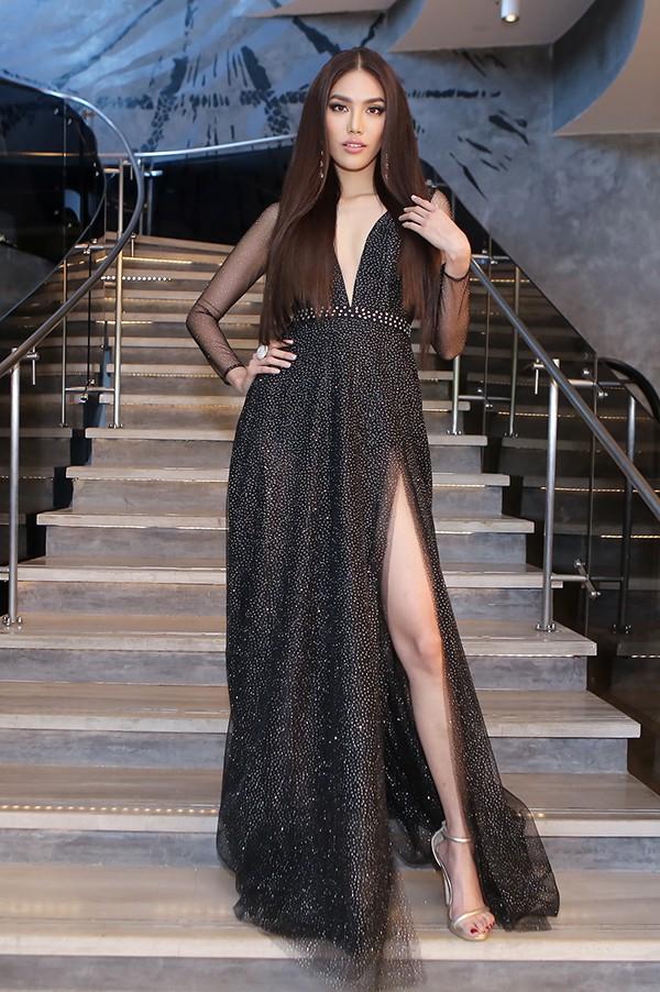 Lan Khuê tự tin đọ sắc cùng Hoa hậu Thế giới, Hoa hậu Hoàn vũ - Ảnh 2.