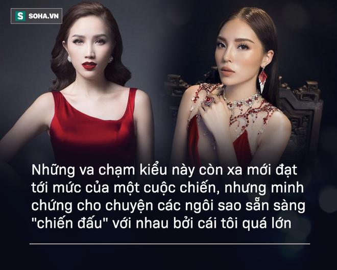 Khi sao Việt thẳng thừng vỗ mặt nhau - Ảnh 2.