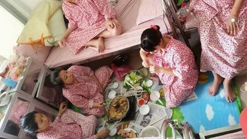 Chụp ảnh tự sướng, lập team ăn lẩu uống bia, các mẹ bầu chờ lên thớt đáng yêu gây sốt mạng - ảnh 6