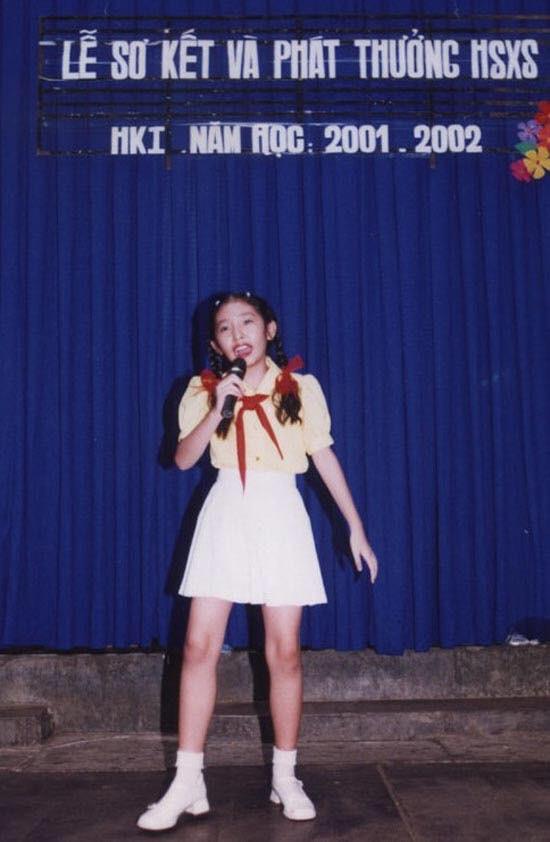 Thần thái sao Việt thuở nhỏ gây sốt MXH trong ngày thứ Hai: Bạn nhận ra được bao người? - ảnh 4
