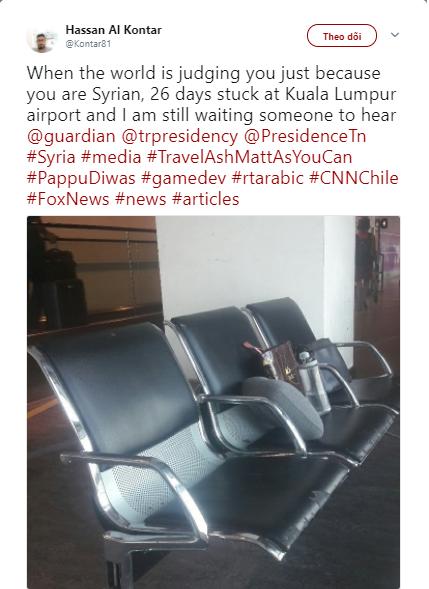 Người đàn ông mắc kẹt tại sân bay Malaysia hơn 40 ngày khiến truyền thông dậy sóng: Khi cả thế giới quay lưng chỉ vì bạn là người Syria - Ảnh 3.