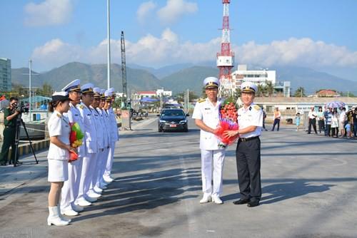 Tàu buồm Lê Quý Đôn xuất phát huấn luyện trên biển - Ảnh 1.