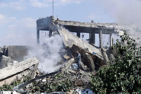Mỹ tấn công Syria: Một cuộc không kích, hai thông điệp - Ảnh 1.