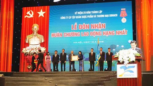 Dược phẩm SOHACO vinh dự đón nhận Huân chương lao động hạng Nhất và kỷ niệm 25 năm thành lập - Ảnh 2.