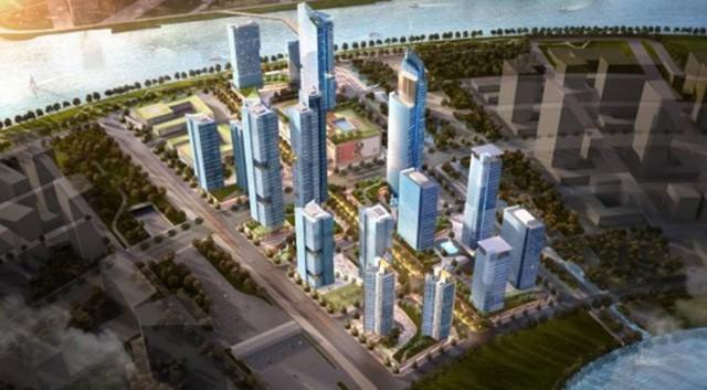 Tập đoàn Hàn Quốc sắp xây siêu dự án tại Thủ Thiêm - Ảnh 1.