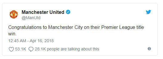 Fan Man Utd phẫn nộ, cảm thấy bị sỉ nhục khi đội nhà chúc mừng Man City - Ảnh 1.
