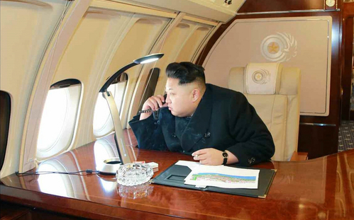 Máy bay Triều Tiên quá