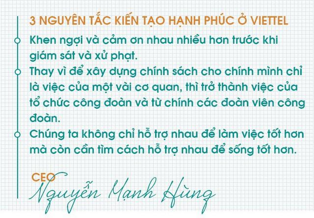 """CEO Viettel Nguyễn Mạnh Hùng: """"Chỉ cần trả lời đúng câu hỏi này, từng ngày của bạn sẽ luôn hạnh phúc"""" - Ảnh 3."""