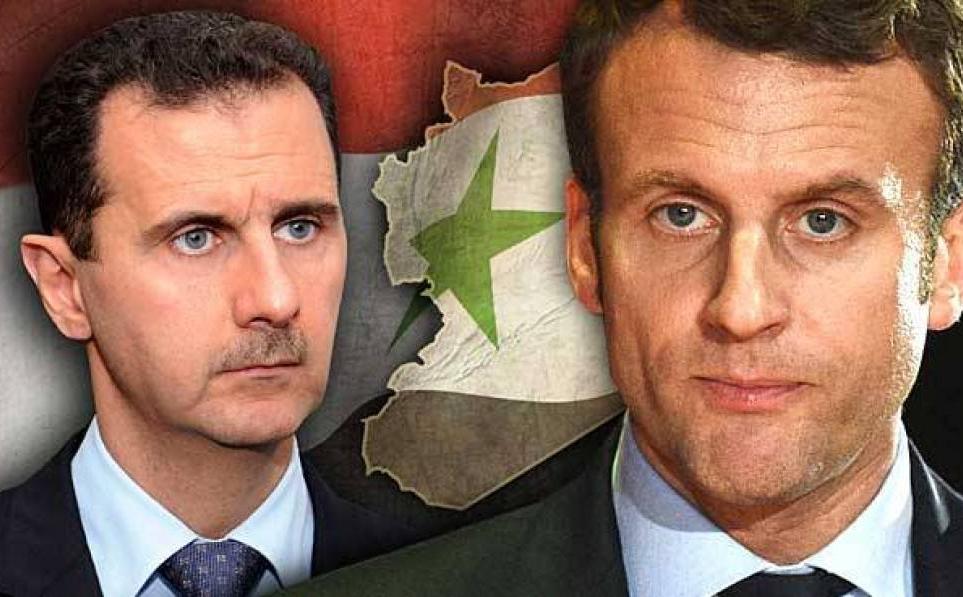 Tổng thống Assad trả Huân chương Bắc đẩu Bội tinh cho Pháp