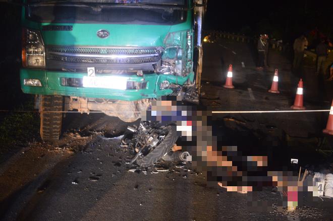 Cận cảnh hiện trường vụ tai nạn khiến 4 học sinh tử vong thương tâm - Ảnh 3.