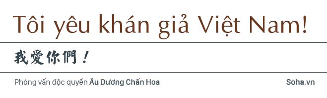 Âu Dương Chấn Hoa trả lời độc quyền báo Việt Nam: 20 năm không con cái, hạnh phúc viên mãn bên vợ tỷ phú 12