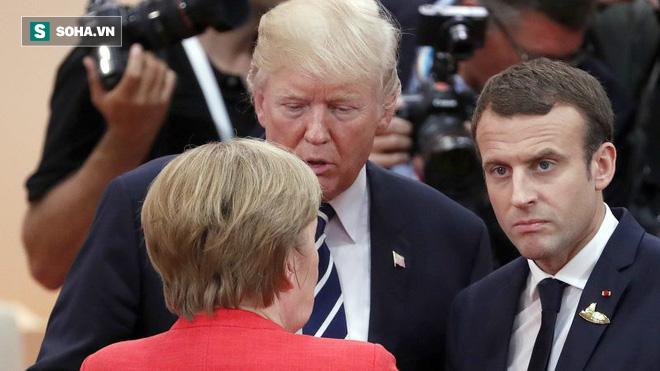 Chuyện ông Trump phân biệt đối xử và sứ mệnh đặc biệt của ông Macron, bà Merkel ở Mỹ - Ảnh 1.