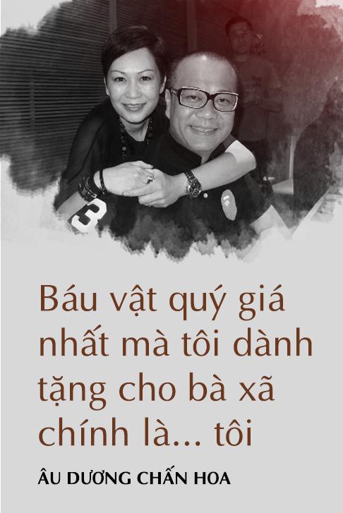 Âu Dương Chấn Hoa trả lời độc quyền báo Việt Nam: 20 năm không con cái, hạnh phúc viên mãn bên vợ tỷ phú 8