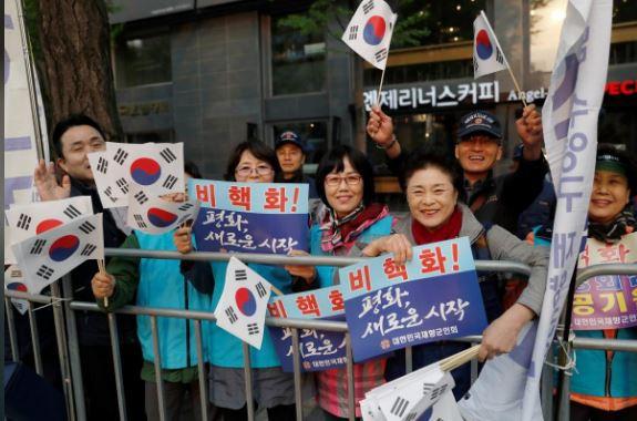 [CẬP NHẬT] Hội nghị thượng đỉnh liên Triều: Ông Kim Jong-un đã rời Bình Nhưỡng, sắp tới Bàn Môn Điếm - Ảnh 4.