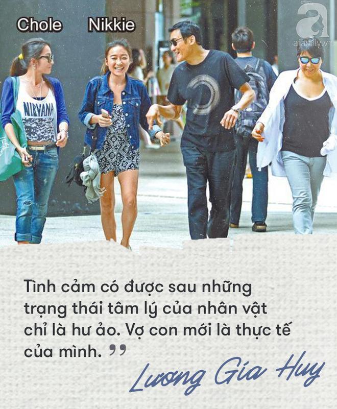 Lương Gia Huy - Người đàn ông gợi tình nhất Hồng Kông đã đoạn tuyệt các mỹ nhân vì người vợ béo già kém sắc - Ảnh 7.