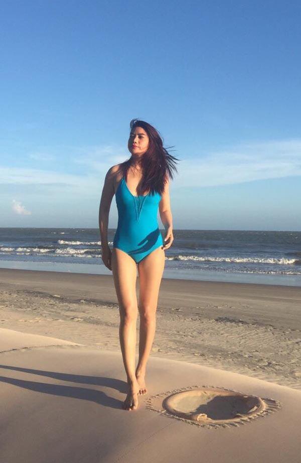 Mỹ nhân Vbiz U40, 50 thả dáng sexy với bikini: Nhìn Hoa hậu Hà Kiều Anh đã sốc, đến MC Kỳ Duyên mới khó tin! - Ảnh 7.