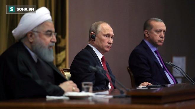Tạm gác bất đồng, Nga-Thổ-Iran đoàn kết chống chính sách thù địch của Mỹ và phương Tây - Ảnh 1.