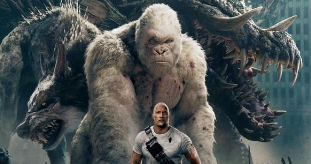 Bom tấn The Rock đối đầu quái vật khổng lồ nhận nhiều lời khen từ giới phê bình - Ảnh 1.