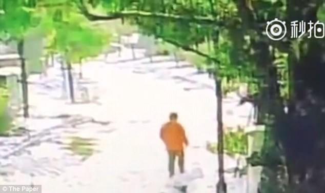 Ming Ming loay hoay tại công viên để tìm chiếc điện thoại bị mất.