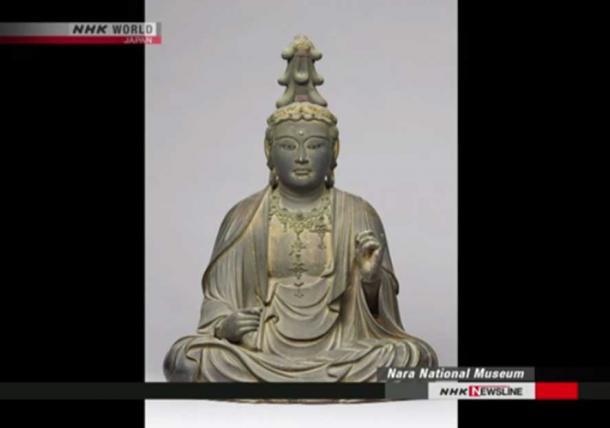 Phát hiện kho báu trong tượng Phật cổ ở Nhật Bản - Ảnh 1.