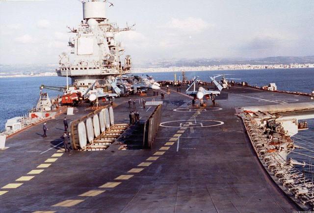 Tàu sân bay vũ trang cực mạnh của Liên Xô: Mỹ và phương Tây không có đối trọng 3