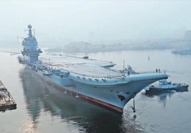 Tàu sân bay Trung Quốc dễ thành con tin, không dám tham chiến ở biển gần? - ảnh 1