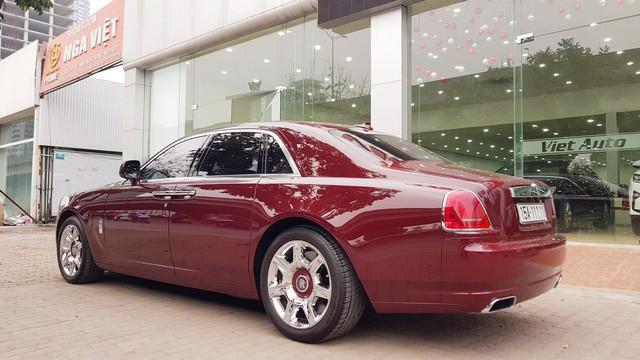 Đại gia Huế tậu Rolls-Royce Ghost Series I từng đeo biển ngũ quý 1, giá hơn 11 tỷ đồng  - Ảnh 6.