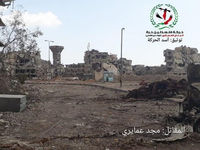 Quân tinh nhuệ Syria nghiền nát IS, đoạt thêm cứ địa khủng bố tại Yarmouk - Ảnh 13.
