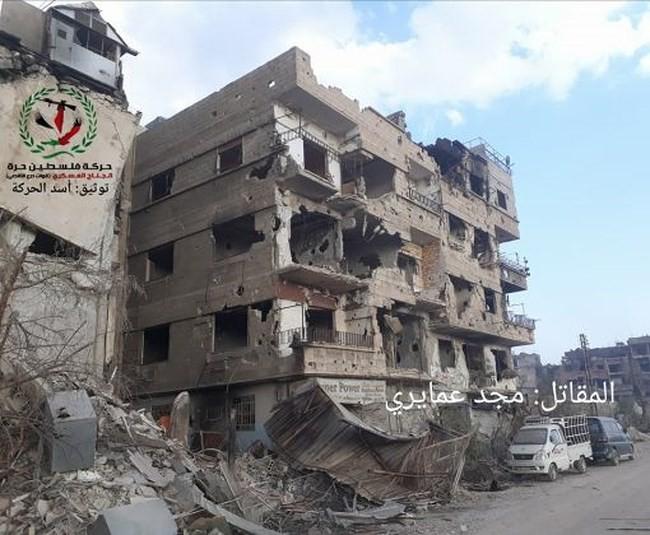 Quân tinh nhuệ Syria nghiền nát IS, đoạt thêm cứ địa khủng bố tại Yarmouk - Ảnh 4.